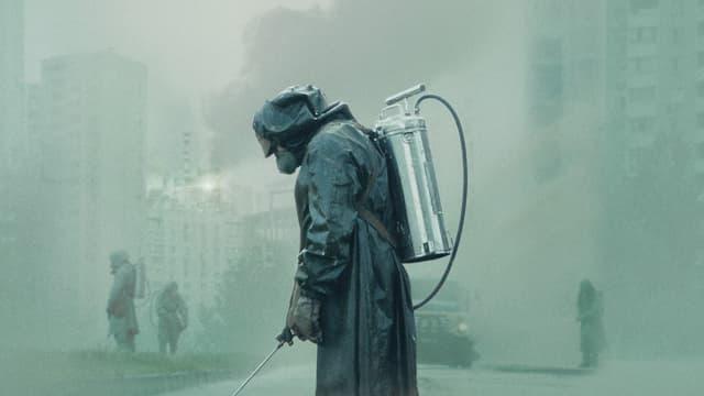 Une scène de la série Chernobyl.