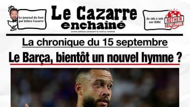 """""""Rothen s'enflamme"""" : Le Cazarre enchaîné du 15 septembre 2021"""