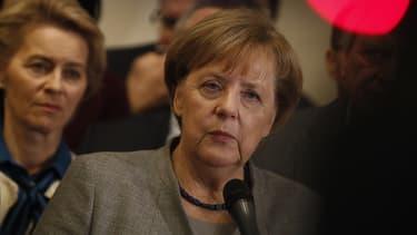 Angela Merkel a acté l'échec des négociations lundi matin.