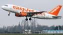 Un appareil de la compagnie low cost Easyjet, au décollage. (Illustration)
