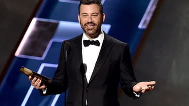 L'animateur Jimmy Kimmel en septembre 2015, lors des Emmy Awards