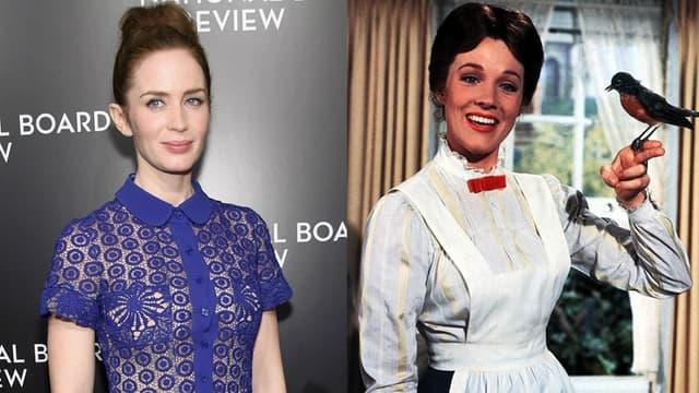 Emily Blunt reprendra le rôle de la célèbre nounou immortalisée au cinéma par l'actrice Julie Andrews