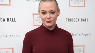Rose McGowan à New York, en avril 2016