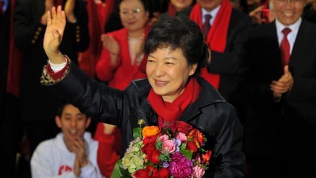 L'ex-présidente sud-coréenne Park Geun-hye.