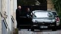 Nicolas Sarkozy quitte son domicile parisien le 31 mars 2015.