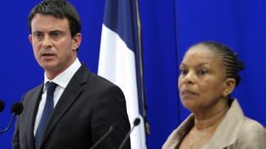 Manuel Valls et Christiane Taubira se sont déplacés à Ajaccio pour annoncer une série de mesures.