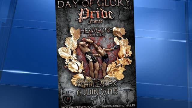 L'affiche de l'événement, postée sur Facebook en février dernier.