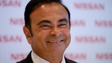 Carlos Ghosn se réjouit de l'accord entre l'État et Nissan.