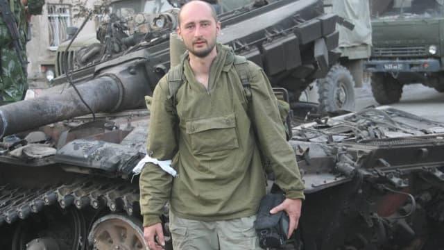 Arkadi Babtchenko en 2008.
