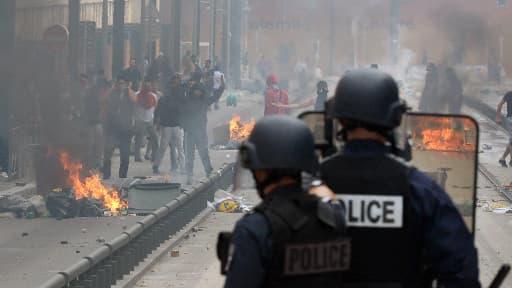 Des heurts ont éclaté entre manifestants et policiers après un rassemblement pro-Gaza, à Sarcelles.