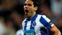 Falcao, buteur de Porto en finale de la Ligue Europa.