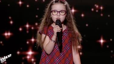 Emma dans The Voice Kids