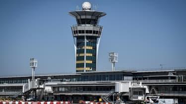 La tour de contrôle de l'aéroport d'Orly, le 24 juin 2020 quelques jours avant sa réouverture