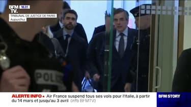 Emplois présumés fictifs: 5 ans de prison, dont deux ferme, requis contre François Fillon