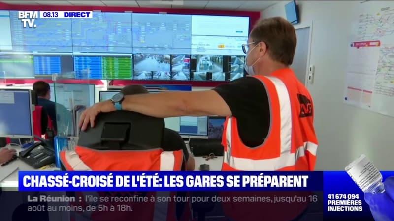 Chassé-croisé de l'été: Bison Futé voit noir sur la route des départs, 520 TGV affrétés depuis la Gare de Lyon à Paris