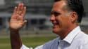 Le candidat républicain, Mitt Romney