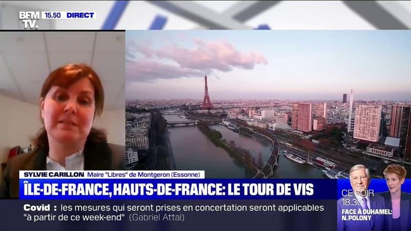 Pour Sylvie Carillon, maire de Montgeron (Essonne), seul un confinement strict