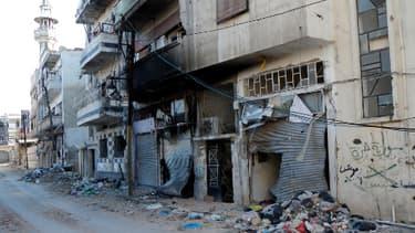 La ville de Homs, en avril 2012.