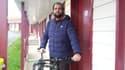 Kamel Daoudi, devant son hôtel à Saint-Jean-d'Angély, le 18 décembre. TOUT DROIT RÉSERVÉ.