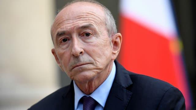 Gérard Collomb le 10 septembre 2017 à l'Élysée (photo d'illustration)