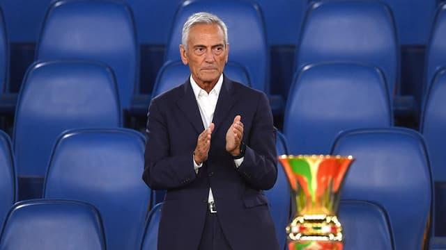 Gabriele Gravina, le président de la FIGC