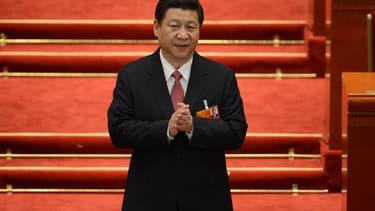 Le nouveau président chinois, Xi Jinping.