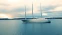 C'est le voilier le plus grand du monde. Créé par Philippe Stark, il a été commandé par le milliardaire russe Andrey Melnichenko pour 425 millions d'euros.