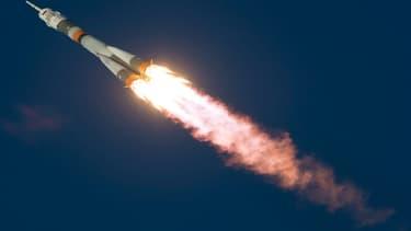 L'agence spatiale russe menace de saisir la justice si Arianespace ne paye pas ses 300 millions d'euros de dettes. (image d'illustration)