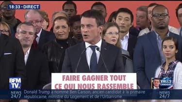 """Manuel Valls: """"Je suis candidat à la présidence de la République"""""""