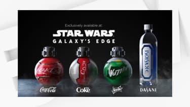 Les bouteilles de soda interdites