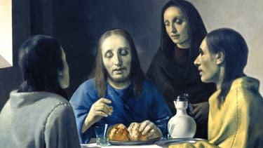 """Cette toile est la première """"création"""" de Van Meegeren, qui l'a faite passer pour un Vermeer."""