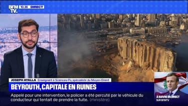 Beyrouth, capitale en ruines - 06/08