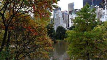 Une vue sur Manhattan depuis Central Park, le 30 octobre 2017.