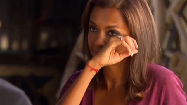 Karine Le Marchand, l'animatrice de l'Amour est dans le pré, sur M6.