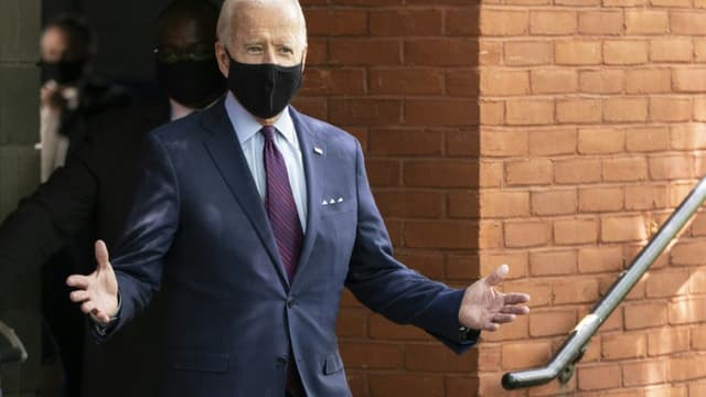 Joe Biden lors d'une réunion publique à Lancaster (Pennsylvanie), jeudi