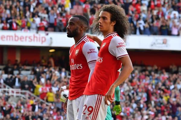 Mattéo Guendouzi s'éclate avec Alexandre Lacazette et Arsenal