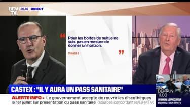 """Castex: """"Il y aura un pass sanitaire"""" - 11/05"""