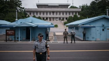 La Zone de sécurité commune de Panmunjom.
