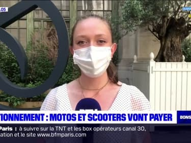 Stationnement à Paris: les conducteurs de motos et scooters vont désormais payer