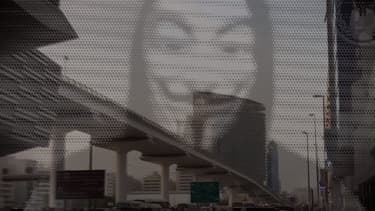Image de la vidéo Anonymous believes NASA is poised to announce discovery of aliens.