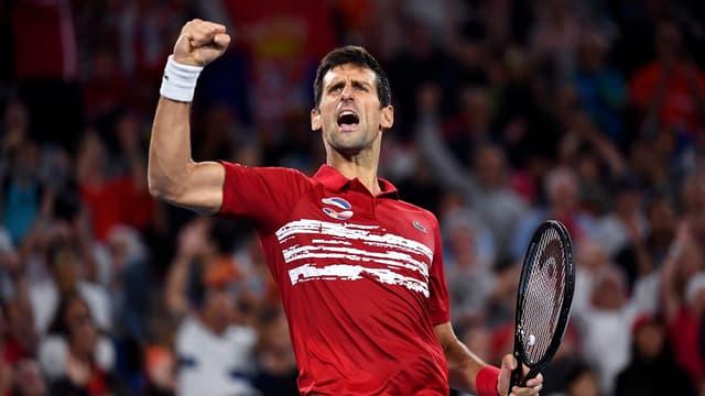 La rage de vaincre de Djokovic