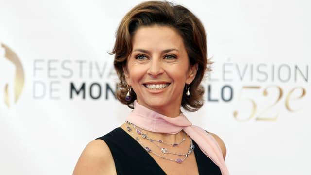 Corinne Touzet au Festival de la Télévision de Monte-Carlo en 2012