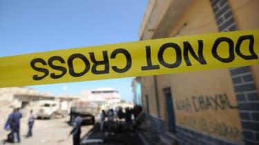 Sur les lieux d'une attaque à Mogadiscio en 2016 (photo d'illustration).