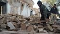Les dégâts à Kohat, dans le nord du Pakistan, après le séisme qui a frappé l'Asie du Sud