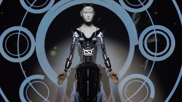 Le robot Mindar, au Japon.