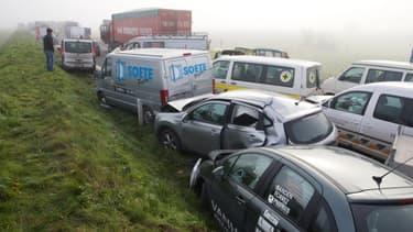 L'accident a eu lieu en Belgique, non loin de la frontière française, le 3 décembre 2013.