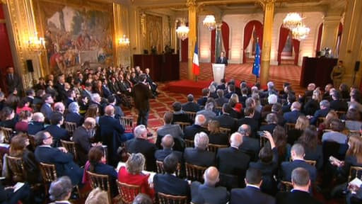 François Hollande a précisé son pacte de responsabilité lors de sa conférence de presse ce 14 janvier.