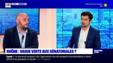 """Élections sénatoriales dans le Rhône: candidat EELV, Thomas Dossus veut incarner """"le renouvellement"""""""