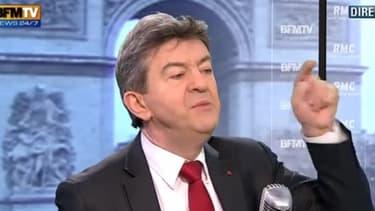 Jean-Luc Mélenchon, le leader du Front de gauche, était l'invité de BFM TV-RMC ce mercredi 9 janvier.