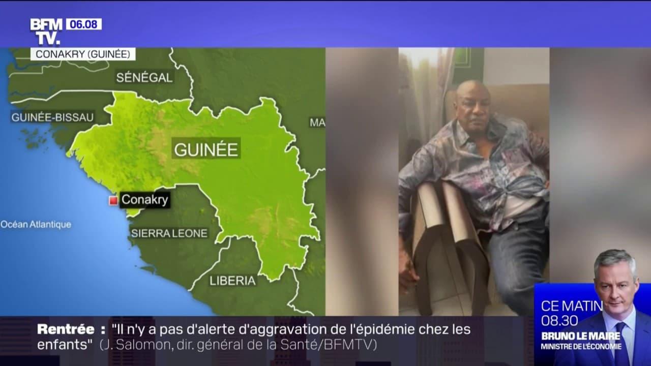 Guinée: des putschistes affirment avoir capturé le président Condé et tenir  Conakry